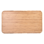 Bamboo table top top down