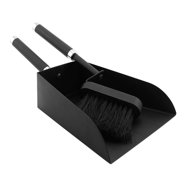 Brush and pan cleaning set