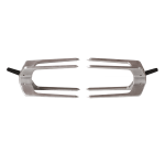Fusion cliplock forks front on