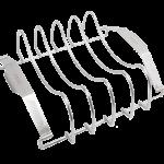 Quantum steel meat rack angled