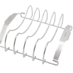 meat rack angled top down stainless steel